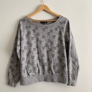 Forever 21 Womens Sweater with Owls